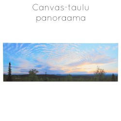 Panoraama canvas-taulu