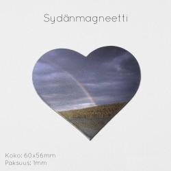 Sydänmagneetti 60x56mm